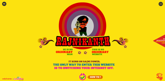 rajnikant website